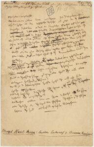 21. februar 1848: Karl Marx og Friedrich Engels udgiver Det Kommunistiske Manifest / Dags dato